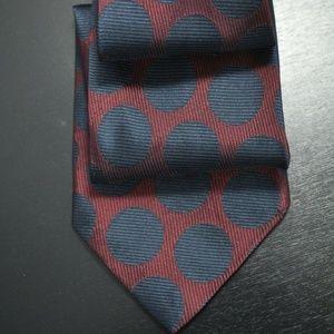 Charvet Burgundy & Navy Tie